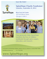 spine hope save the date, transforming lives worldwide through research, dr matthew geck